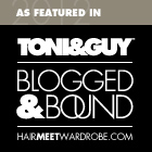 TONI&GUY: Blogged&Bound